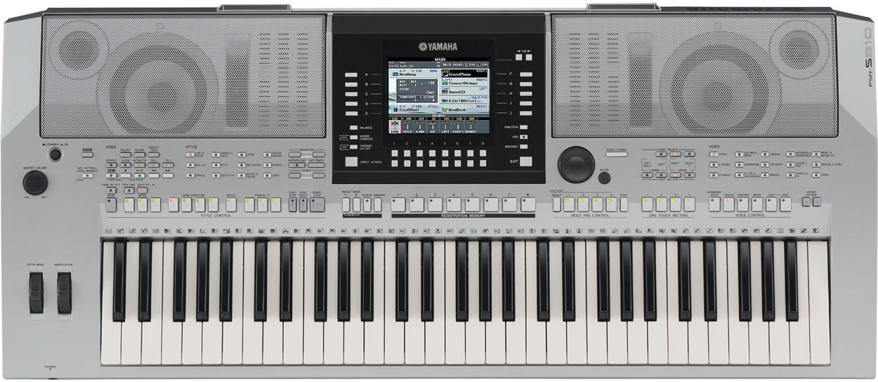 Lessons start here introduction for Yamaha psr s 950
