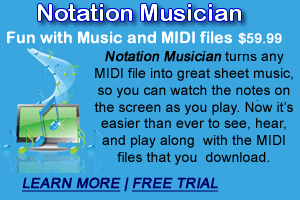 Notation Musician Ad