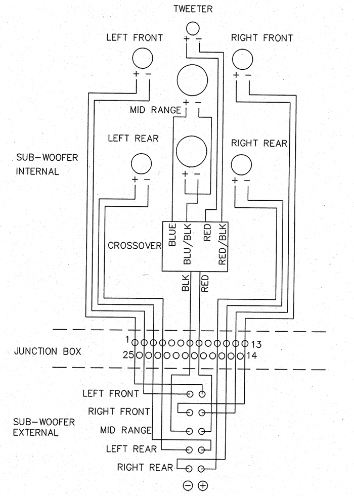 Logitech Speakers Wiring Diagram