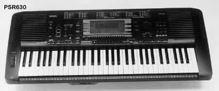 Sty yamaha keyboard